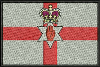 Northern Ireland Ulster Embroidered Badge
